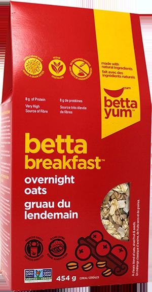 Betta Overnight